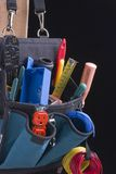 Electrician's bag Royalty Free Stock Images
