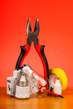 Electrician's tools Stock Images