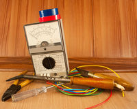 Electrician tool master Stock Photo
