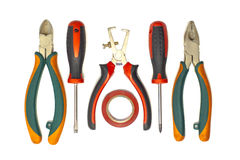 Electrician tools Stock Photography