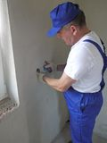 Electrician at work Royalty Free Stock Photo