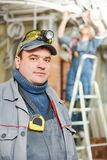 Electrician worker stock images