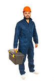 Electrician worker man Stock Images