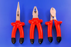 Electricians tools Stock Photography