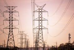 Electricidad Fotos de archivo libres de regalías