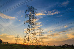electricidad fotos de archivo