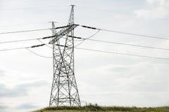 Electricidad de alto voltaje 3D Fotografía de archivo