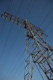 Electricidad de alto voltaje 3D Fotografía de archivo libre de regalías
