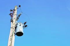 Electricidad de alto voltaje 3D Fotos de archivo
