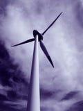 Electricidad de Eolic Imagen de archivo