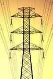 Electricidad de la mañana Foto de archivo libre de regalías