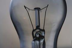 Electricidad del concepto del bulbo Fotografía de archivo
