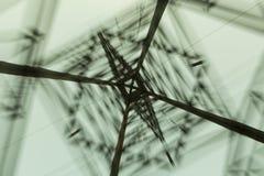 Electricidad poste imagen de archivo libre de regalías