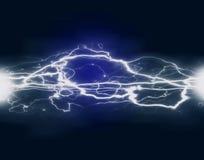 Electricidad y poder Imagen de archivo libre de regalías