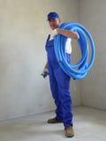 Electricista Foto de archivo libre de regalías