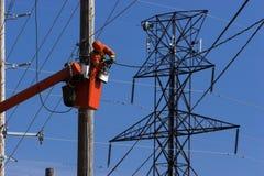 Electricista Fotos de archivo
