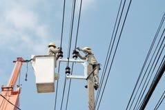 Electricista 14 fotografía de archivo libre de regalías