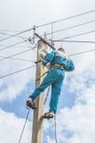 electricista Fotografía de archivo libre de regalías