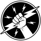 Electricista Symbol Imagenes de archivo