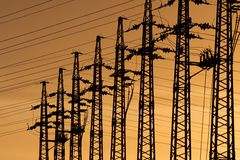 Electricity Royalty Free Stock Images