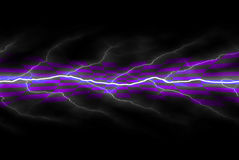 Electricity Backdrop Stock Image