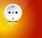 Electricity background Royalty Free Stock Image