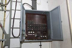 Electricity block Stock Image