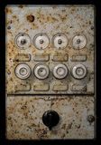 Electricity board. Very old grungy electricity board royalty free stock photo