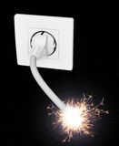 Electricity bomb concept Stock Photography