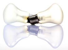Electricity bulbs Royalty Free Stock Photo