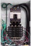 Electricity circuit breakers (fuse box) Stock Photos