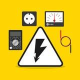 Electricity concept design Stock Photo