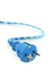 Electricity connector. Royalty Free Stock Photography