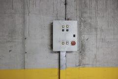 Electricity control box Stock Photo