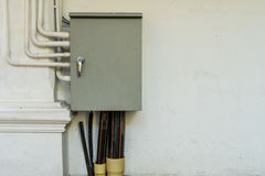 Electricity Control panel. Image of Closed electricity Control panel stock photography