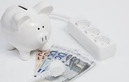 Electricity costs royalty free stock image