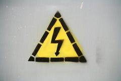 Electricity danger Stock Photos