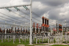 Electricity distribution station Stock Photography
