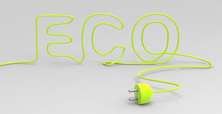 Electricity Eco Stock Image