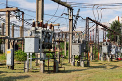Electricity, electric equipment Royalty Free Stock Photos