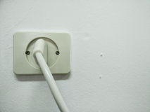 Electricity. Electrical socket Royalty Free Stock Image