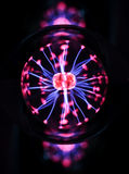 Electricity fire ball. Royalty Free Stock Photo