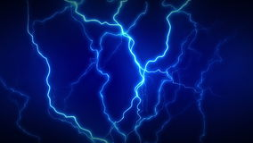 Electricity Full Blue stock video