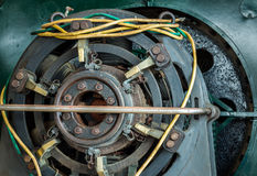 Electricity Generator Brushes Royalty Free Stock Photography