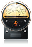 Electricity hydro power counter vector Stock Photo