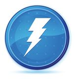Electricity icon midnight blue prime round button. Electricity icon isolated on midnight blue prime round button abstract illustration royalty free illustration
