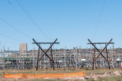 Electricity infrastructure Stock Photography