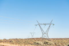 Electricity infrastructure Royalty Free Stock Images