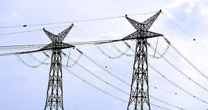 Electricity, Israel. Israeli Power lines stock image