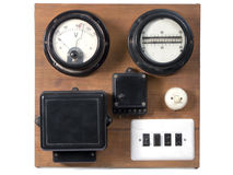 Electricity meter Stock Image